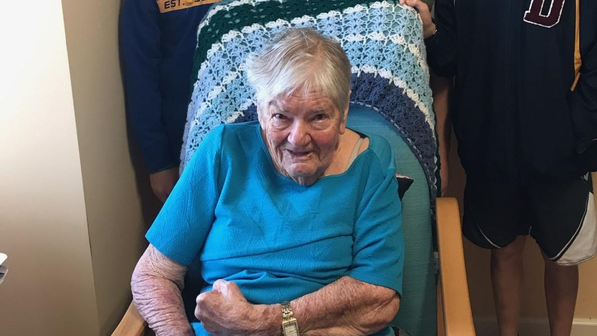 The late 'Betty' Hilda Elizabeth Burnett of Geraldton