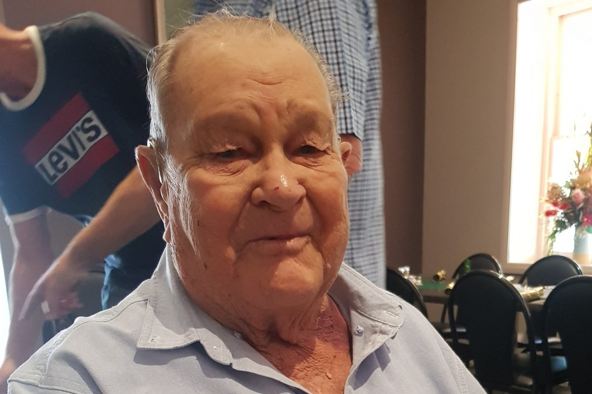Funeral notice for the late Snow Cyril Kevin Browning of Dongara (formerly Three Springs, Mingenew)