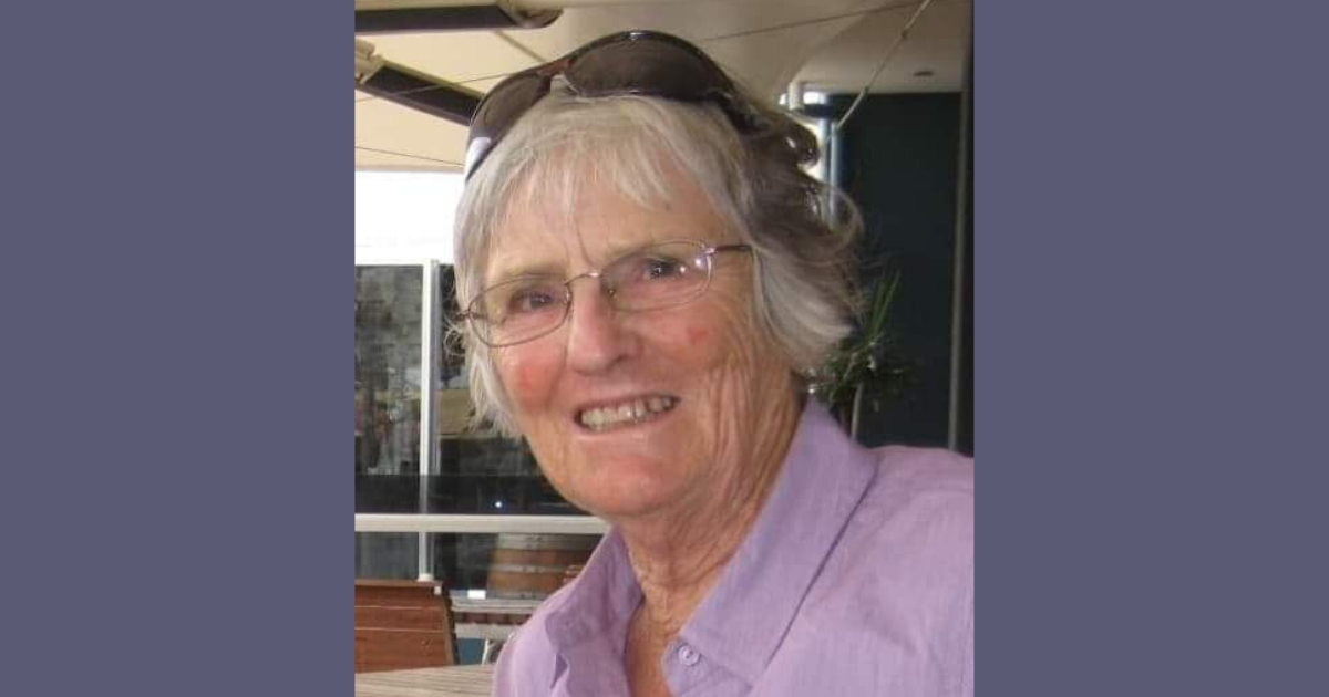 The late Lucille Alice Peat of Geraldton Western Australia