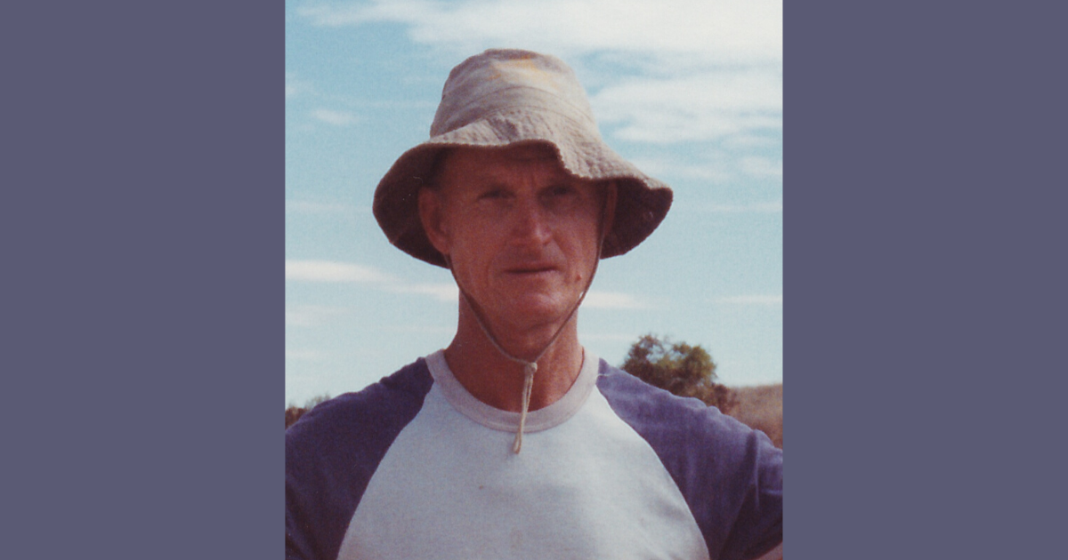 The late Westral James Athol Smith of Geraldton, Western Australia