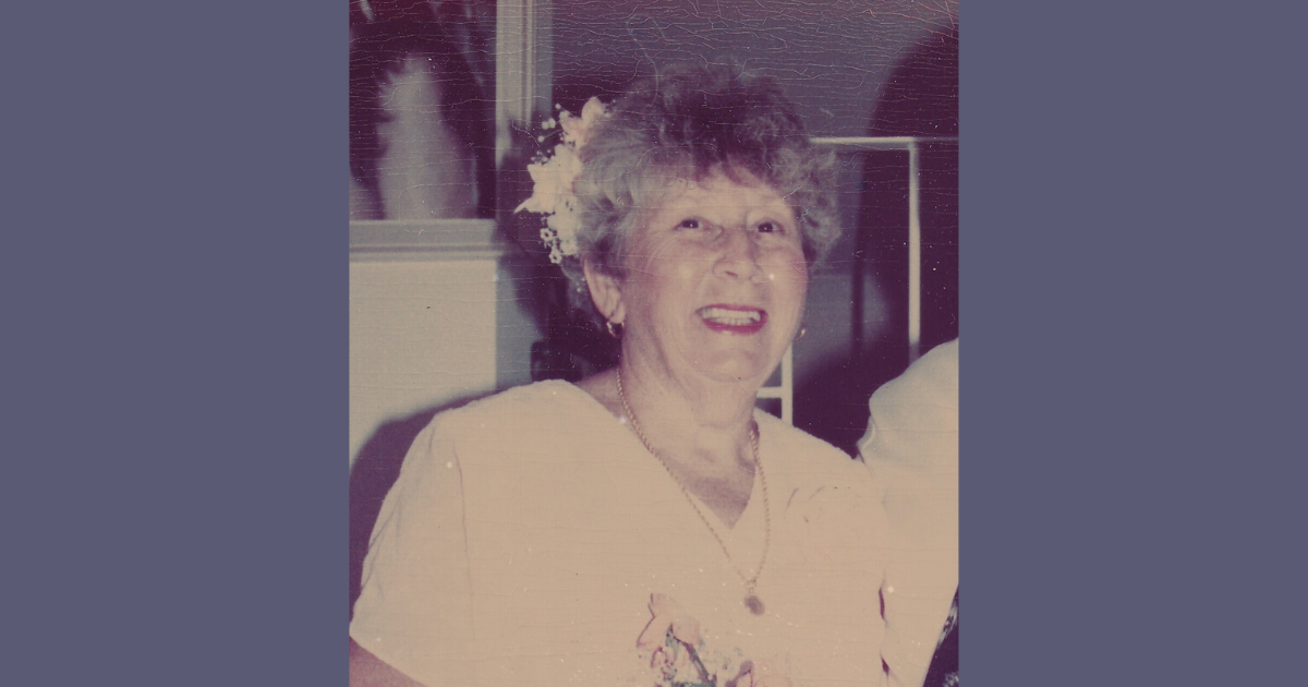The late Jean Jessett of Geraldton, Western Australia