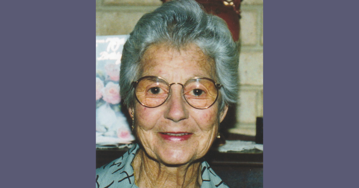 The late Betty Grey of Geraldton, Western Australia