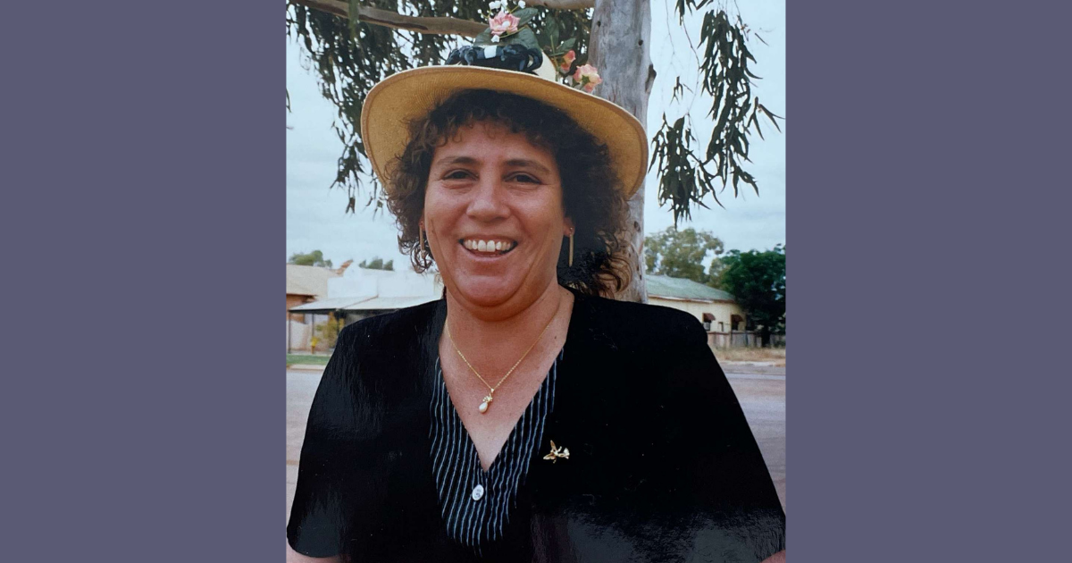 The late Maria Taylor of Cue WA